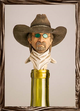 Cowboy Bottle Stopper Ladies Man - Rockmount