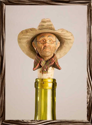 Cheaters Cowboy Bottle Stopper - Rockmount