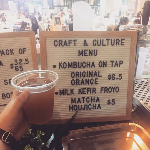 Craft & Culture Kombucha on Tap