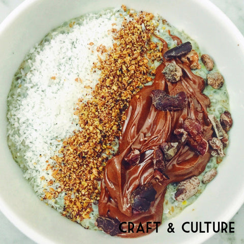 Craft & Culture Pistachio Milk Kefir Bowl