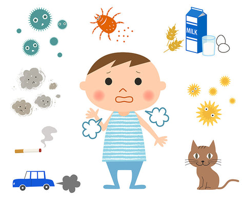 Allergies and eczema