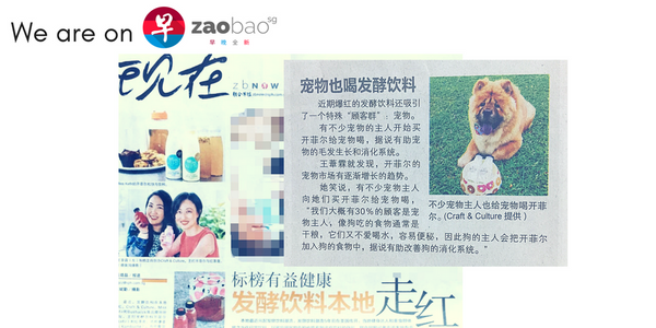 Zao Bao Interview with Stuart Puppy Chow who drinks Craft & Culture Milk Kefir