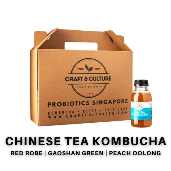 [Seasonal] Chinese Tea Kombucha Set 2 - Craft & Culture - Kombucha, Kefir & Probiotics Singapore