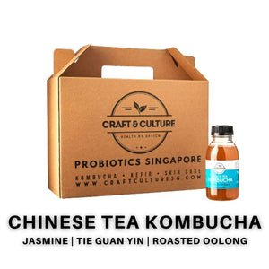Chinese Tea Kombucha Set 1 - Craft & Culture - Kombucha, Kefir & Probiotics Singapore