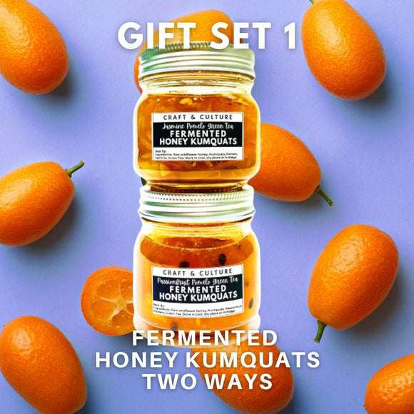 [BACK IN STOCK] Fermented Honey Kumquats