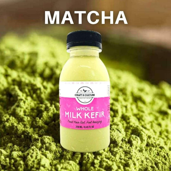 [Limited Edition] Premium Matcha Green Tea Whole Milk Kefir - Craft & Culture - Kombucha, Kefir & Probiotics Singapore