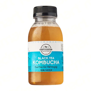 [Seasonal] Da Hong Pao Black Tea Kombucha - Craft & Culture - Kombucha, Kefir & Probiotics Singapore