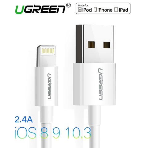 Ugreen USB Cable MFi Lightning to USB for iPhone