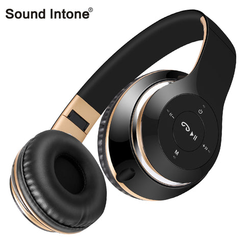 Sound Intone BT-09 Bluetooth Headphones Wireless with Mic Support FM Radio