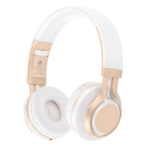 Sound Inotne BT-08 Wireless Bluetooth Headphones With Mic Bass HIFI