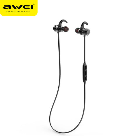 Awei A920BLS 4.1 Bluetooth Wireless Earphones Sports IPX5 Waterproof With Mic