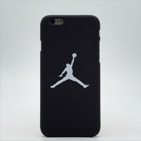 Limited Edition: JumpMan Michael Jordan Matte Case For Apple iPhone 5-8