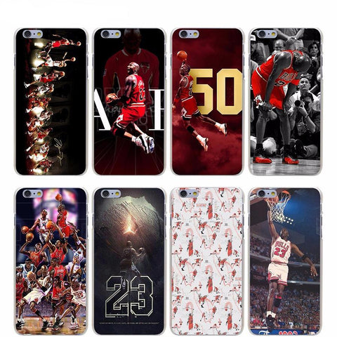 Michael Jordan Hard Transparent Cover Case