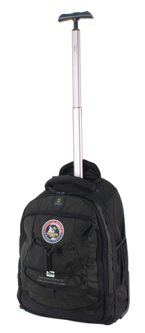 National Geographic backpack with wheels