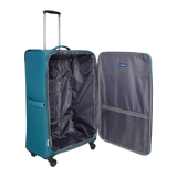 soft trolley suitcase with 4 wheels Saxoline | Hong Kong