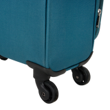 lightweight soft luggage with 4 wheels