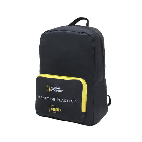 Nat Geo foldable backpack recycled Pet
