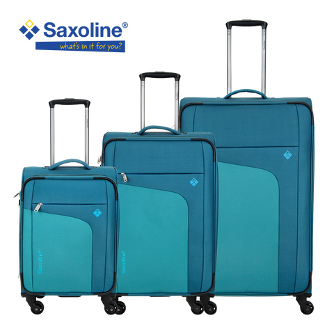Saxoline soft luggage set | luggageandbagsstore.com in Hk