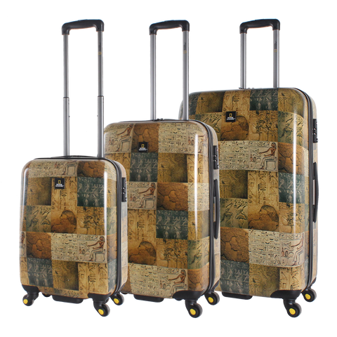 National Geographic printed hard luggage | Hong Kong
