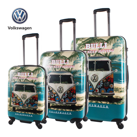 VW T1 printed hard luggage | HK