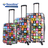 the famous printed Saxoline luggage set Iconic | Hk