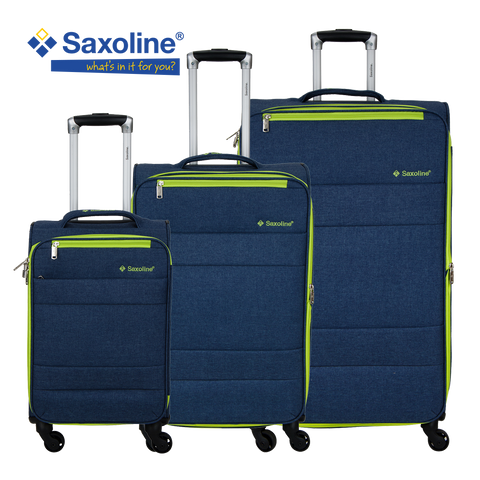 Saxoline light soft luggage with 4 wheels | Hk