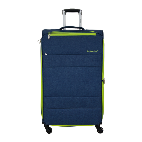 large navy soft luggage Saxoline