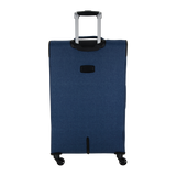 light stylish and strong soft luggage with 4 wheels