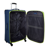 practical soft and light luggage Saxoline with 4 wheels | HK