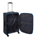 medium size soft luggage with 4 wheels | Saxoline Hk