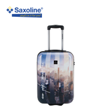 hard carry-on with print Saxoline | Luggageandbagsstore.com Hk
