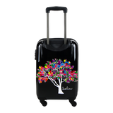 Saxoline blue hand carry with Magic tree print