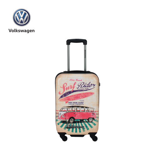 VW printed hard luggage T1