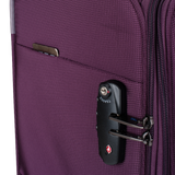 Saxoline soft luggage with  TSA lock