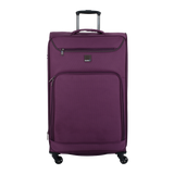 large soft trolleycase Saxoline blue | luggageandbagsstore.com