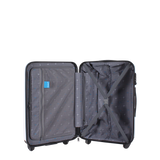 Printed luggage of Saxoline blue | luggageandbagsstore.com
