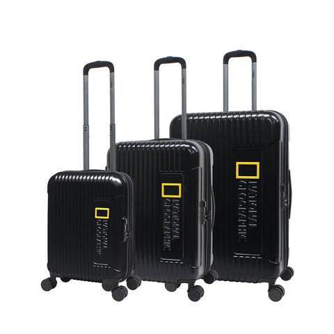 Impressive Nat Geo Hard luggage 8 wheels
