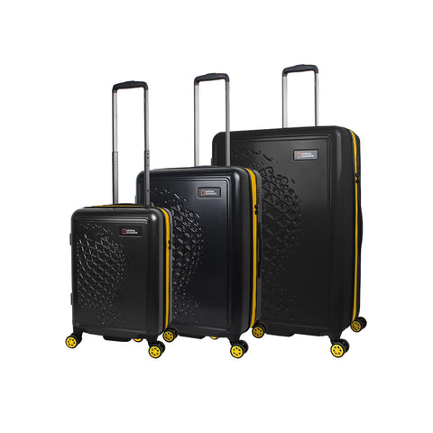 Hard suitcases with 4 wheels Nat Geo