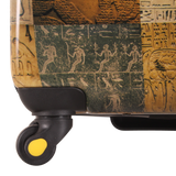 4 wheels hard case trolley | National Geographic Egypt