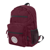 burgundy laptop backpack