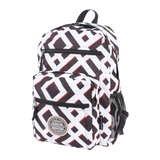 printed backpack with laptop compartment Goodyear