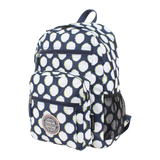 printed polyester backpack