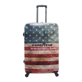 Large hardcase trolley Goodyear with print online | HK