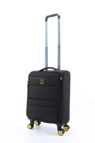 Nat Geo soft luggage with 4 wheels