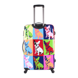 most succesful printed luggage ever Saxoline Bulldog | Hk