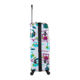 Colourful printed luggage from Saxoline