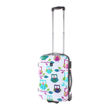 Cabin trolley with owls print | luggage and bagsstore.com