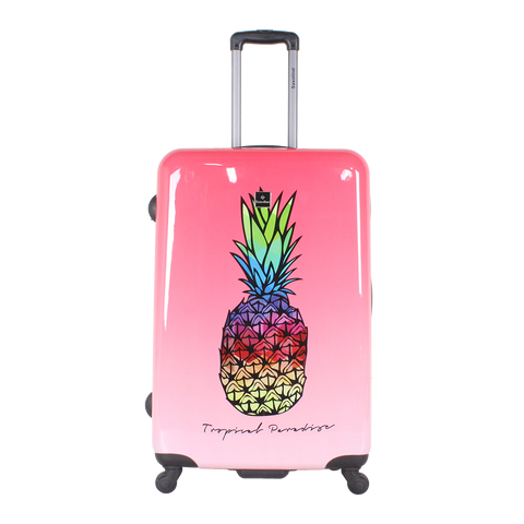 suitcases with print of Saxoline in Hk | luggageandbagsstore