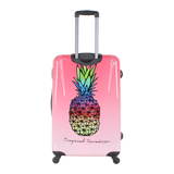 trolley suitcase with Pineapple print of Saxoline | Hk