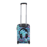 small hard trolley case with Headphones print Saxoline | Hk